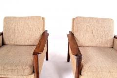 Illum Wikkels Midcentury Pair of Illum Wikkelso Capella Chairs for Niels Eilersen - 1669596