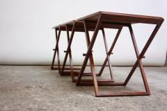 Illum Wikkels Nest of Three Teak Folding Tables by Illum Wikkels  - 511890