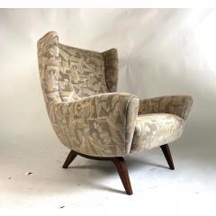 Illum Wikkels Vintage Illum Wikkelso Highback Lounge Chair - 1692120