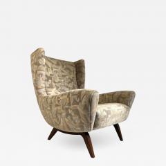 Illum Wikkels Vintage Illum Wikkelso Highback Lounge Chair - 1693666