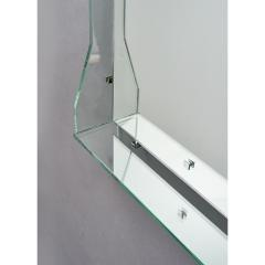 Illuminated Mirror in the manner of Fontana Arte 1960s - 1633014