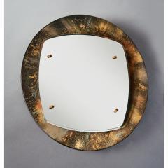 Illuminated Sunburst Mirror in Gold Tones Italy ca 1970 - 1805642