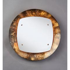 Illuminated Sunburst Mirror in Gold Tones Italy ca 1970 - 1805643