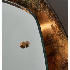 Illuminated Sunburst Mirror in Gold Tones Italy ca 1970 - 1805645