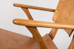Ilmari Tapiovaara Rare Pair of 1940s Rocking Chairs by Ilmari Tapiovaara - 958074