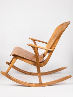 Ilmari Tapiovaara Rare Pair of 1940s Rocking Chairs by Ilmari Tapiovaara - 958075