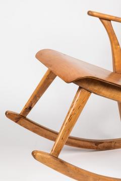 Ilmari Tapiovaara Rare Pair of 1940s Rocking Chairs by Ilmari Tapiovaara - 958076