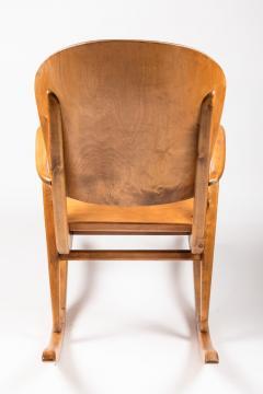 Ilmari Tapiovaara Rare Pair of 1940s Rocking Chairs by Ilmari Tapiovaara - 958080
