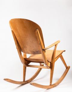Ilmari Tapiovaara Rare Pair of 1940s Rocking Chairs by Ilmari Tapiovaara - 958084