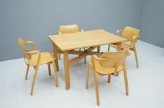 Ilmari Tapiovaara Rare Set Of Four Ilmari Tapiovaara Aslak Dining Room Chairs Asko Finland 1960s - 1378484