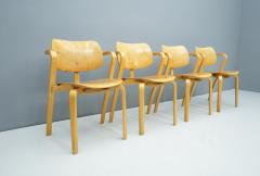 Ilmari Tapiovaara Rare Set Of Four Ilmari Tapiovaara Aslak Dining Room Chairs Asko Finland 1960s - 1378492
