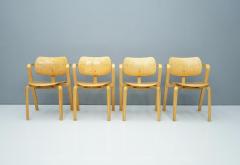 Ilmari Tapiovaara Rare Set Of Four Ilmari Tapiovaara Aslak Dining Room Chairs Asko Finland 1960s - 1378493