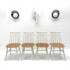 Ilmari Tapiovaara Set of Four Ilmari Tapiovaara Dining Chairs - 626813