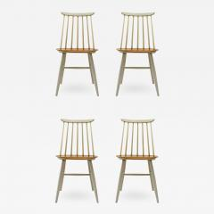 Ilmari Tapiovaara Set of Four Ilmari Tapiovaara Dining Chairs - 629751
