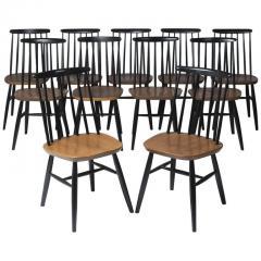 Ilmari Tapiovaara Set of eleven chairs by Ilmari Tapiovaara Finland circa 1960 - 1196863