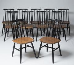 Ilmari Tapiovaara Set of eleven chairs by Ilmari Tapiovaara Finland circa 1960 - 1196864