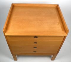 Ilse Rix Danish Modern Oak Chest of Drawers by Llse Rix - 177492