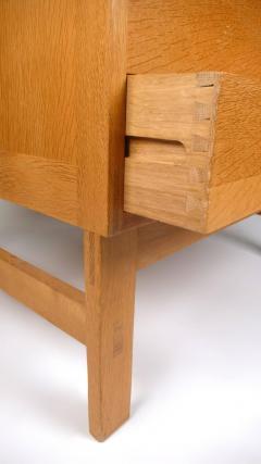 Ilse Rix Danish Modern Oak Chest of Drawers by Llse Rix - 177495