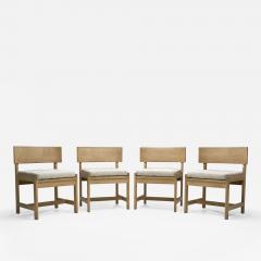 Ilse Rix Set of Four Oak Chairs by Ilse Rix for Uldum M belfabrik Denmark 1961 - 2059977