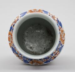 Imari Ribbed Open Vase Circa 1860 - 267176