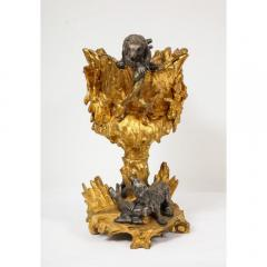 Important Ormolu and Silvered Bronze Figural Wine Cooler Possibly Russian 1860 - 1110879