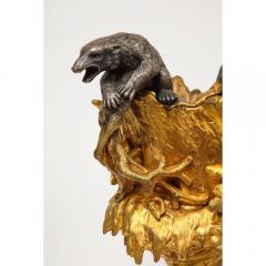 Important Ormolu and Silvered Bronze Figural Wine Cooler Possibly Russian 1860 - 1110880
