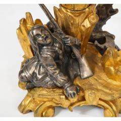 Important Ormolu and Silvered Bronze Figural Wine Cooler Possibly Russian 1860 - 1110882