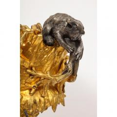 Important Ormolu and Silvered Bronze Figural Wine Cooler Possibly Russian 1860 - 1110884