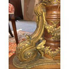 Important S vres style Gilt bronze with Porcelain Plaques Center Table - 1435225