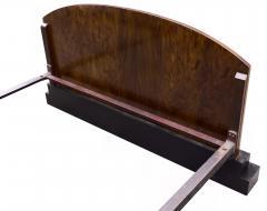 Impressive Art Deco Walnut Double Bed Circa 1930s - 1106040