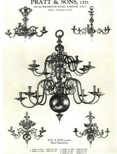 Impressive Dutch Three tier Brass 18 light Chandelier - 1878146