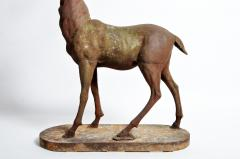 Impressive French Red Deer Sculpture - 1192945
