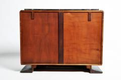 Impressive Mid Century Modern French Sideboard with Mable Top - 1193009