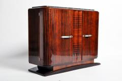 Impressive Mid Century Modern French Sideboard with Mable Top - 1193011