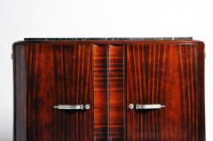 Impressive Mid Century Modern French Sideboard with Mable Top - 1193013
