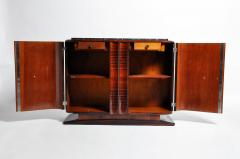 Impressive Mid Century Modern French Sideboard with Mable Top - 1193015