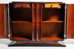 Impressive Mid Century Modern French Sideboard with Mable Top - 1193016
