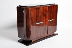 Impressive Mid Century Modern French Sideboard with Mable Top - 1193019