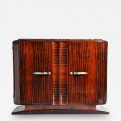 Impressive Mid Century Modern French Sideboard with Mable Top - 1193849