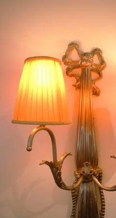Impressive Pair of French Art Deco Wall Lights - 1988431