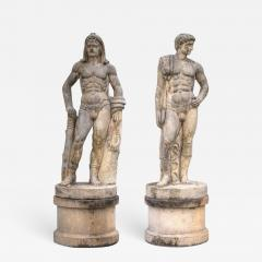 Impressive Pair of Marble Sculptures - 633239
