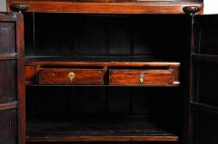 Impressive Two Section Cabinet With Five Drawers - 1140478