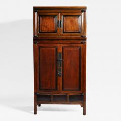Impressive Two Section Cabinet With Five Drawers - 1141055