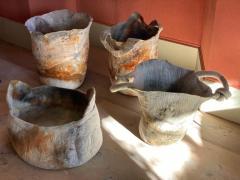 In s Schertel La o 2020 Naturally Dyed Felted Wool Vase by In s Schertel Brazil - 1305738