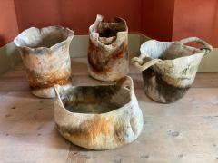 In s Schertel La o 2020 Naturally Dyed Felted Wool Vase by In s Schertel Brazil - 1305739