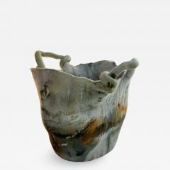 In s Schertel La o 2020 Naturally Dyed Felted Wool Vase by In s Schertel Brazil - 1352793