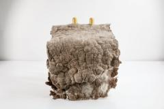 In s Schertel Tapera Little Chair in Wool and Tauari Wood by In s Schertel Brazil 2019 - 1590343