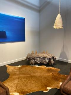 In s Schertel Untitled 2019 Silk and Felted Wool Hanging Lamp by In s Schertel Brasil - 1314141