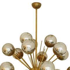 In the Style of Mid Century Modern Sputnik Italian Suspension Lamp - 1232803