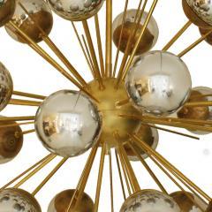 In the Style of Mid Century Modern Sputnik Italian Suspension Lamp - 1232804